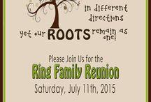 Family reunion plan