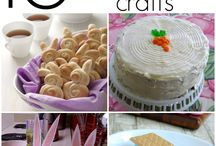 Easter / Inspire learning with these fun Easter crafts, games, and treats!