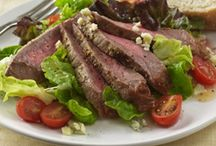 salads, snacks, & sides / Run out of hamburgers? Still include beef in your meal with these beefy salads and side dishes, or enjoy one of these beefy snacks on the go!