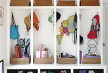 Whole house organizer, for shoes, bag etc
