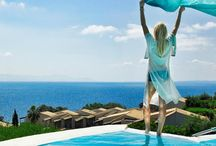 Aeolos Beach Resort / Welcome to Aeolos Corfu Beach Hotel Resort. Wonderfully perched on the south east coast of Corfu, resort is surrounded by gardens and the infinite blue of the Ionian Sea.