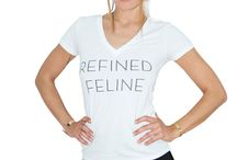 Cat Fashion T shirts / Cat Fashion Deep V T's from The Refined Feline