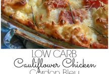 Casseroles.chicken cauliflower