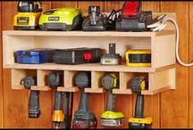 Rangements pour le garage