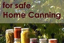 Organic Home Canning