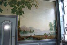 Werkfoto's - Janskliniek / Restauratie historische binnenruimte van de Janskliniek in Haarlem