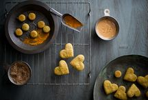 Dog Biscuits with tumeric