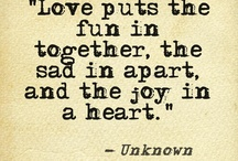 Love.  / by Season Horstmeier