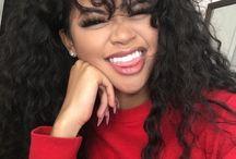 curly bang