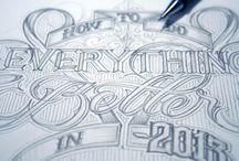 typography/typografia / litery to nie tylko treść ale i wygląd.