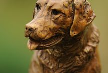 Bronze Sculptures - family animals / Bronze sculptures of our best friends - our family pets