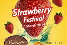 Berry-Berry Strawberry Festival / A lip-smacking special festival dedicated to Strawberries and its various preparations.
