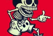 Dia de Los Muertos / Everything Sugar Skull and more  / by Caryne Pierce