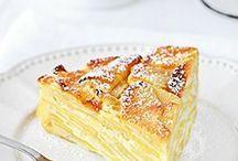 gâteaux aux pomme ricotta