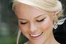 bride hair braid updo
