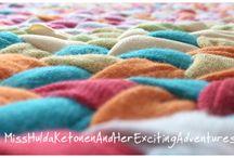Plaited rug tutorial / Plaited rug, diy, tutorial, no sew, braided rag rug