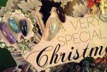 Kerst Moodboard 2013 / Breng de kerstsfeer in de salon door het maken van een moodboard, je klant kan zo haar favoriete design uitkiezen!  Show all your designs on this Christmas moodboard and the client can pick her favorite!