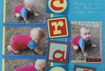 Crawl scrapbook page