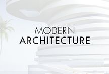 Modern Architecture / Elegantly engineered. Soft fluid lines. A natural, organic presence in an otherwise industrial world. Movado reaches new heights with inspirations from modern architectural design.