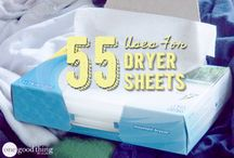Dryer sheet tips