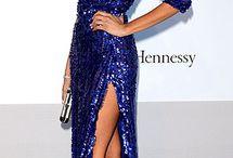 Celebrity Formals - Blue, Green