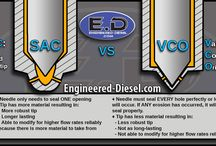 Diesel Information / This is Engineered Diesel's Informational Board. We have created some visuals and written a few articles to answer some frequently asked questions. Go to http://www.engineered-diesel.com/informational to view the full articles.  #dieselinformation #dieselpower #diesel #dieselknowledge #dieselschool #dieselshop