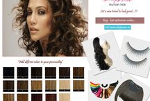 Deepwave hair extensions / We provide hair extension products.