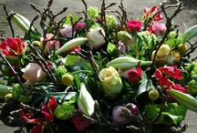 Rouwarrangement 'voorjaar'