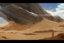 Grettoris - Warhammer 40k / The world of Grettoris, at the far edge of the Eastern Fringe. Inspiration images.