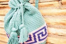 Crochet - Bags, Baskets, and such / Patterns and links for bags, purses, pouches, baskets, etc / by Monika Farmer