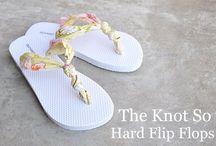 Flip Flops. / by Shirley Bennett