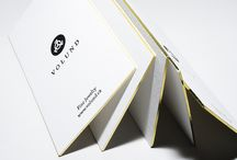 Edge Gilding / Print finishing with foil laminate applied to the card's edge