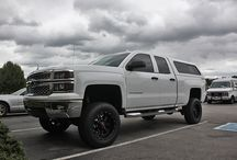 "2014 Chevy Silverado 1500 RCX 7"" Lift Kit / by Top Gun Customz"