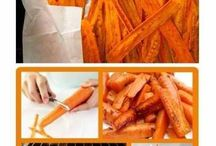 Food ideas / Carrot Chips