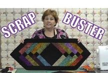 Scrap busting whole quilt and simple block ideas! / by Nikki LovesToQuilt