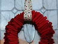 holiday wreaths / by Abigail Bulaski