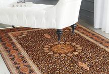 Creative Ideas for home decor using Silk Rugs!