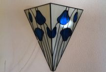 Home made / Zelf gemaakt van glas