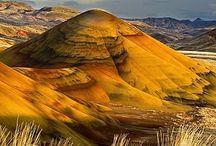 OR - Painted Hills NM, John Day FBNM, Ochoco NF, Umatilla NF, Malheur NF, Wallowa Whitman NF