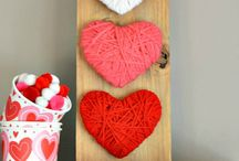 Valentine's Day DIY Home Decor / Home decor and projects you will want to make for Valentine's Day. Make your own Valentine's Day Home Decor. Valentine's Day Crafts.