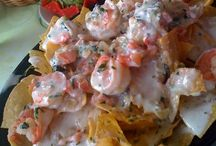 Main Dishes and Appetizers To Try (Seafood)