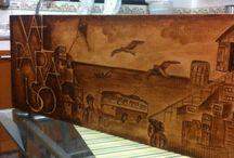 Pintura en madera / Manualidades