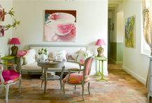 Casas decoradas más frescas para este verano. / Dale un toque de frescor a tu hogar con elementos decorativos.