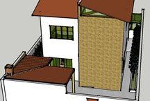 Residência em Contagem / Residência com garagem e dois andares