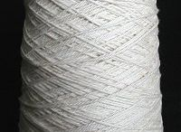 Cotton & Cotton Blend Undyed Yarns / CATNIP YARNS • First quality undyed cotton & cotton blend yarns - ready to be dyed or used in the natural color