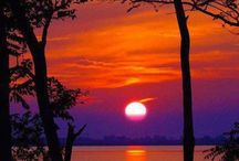 beautiful sunset