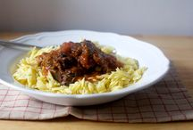 Beef Entrees / Foods made with beef, entrees, mains, steak, chuck roast, ground beef, burgers