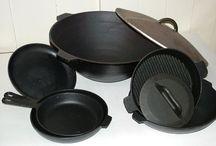 Чистим кухню сковороду