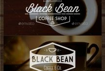 colour branding // coffee buzz / The reason behind why I chose these three colours for my logo design is because the duo browns not only represent the coffee itself but also embody the warmth and richness of the said coffee brand, the addition of the yellow adds the buzz to the logo, aswell as the sporadic composition of the coffee beans, implying the buzz and energy.
