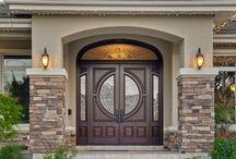 Door H.A arch
